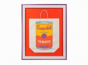 Andy Warhol, 'campbell's Soup Can On Shopping Bag',