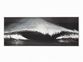 Robert Longo, 'wave', Lithograph & Silkscreen, 2003