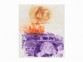 R. Rauschenberg, 'back Up (from Ground Rules)',