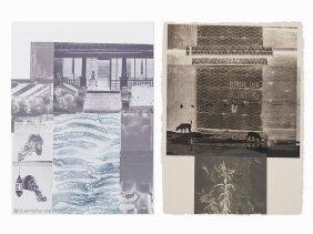Robert Rauschenberg, Set Of Two Lithographs, 1981