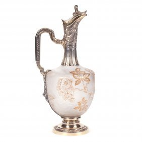 French Carafe. Daum Nancy For Russian Market.