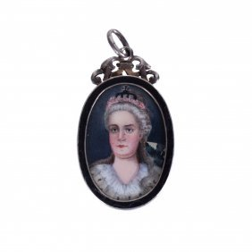 Medallion With Catherine The Great. Faberge Workshop.