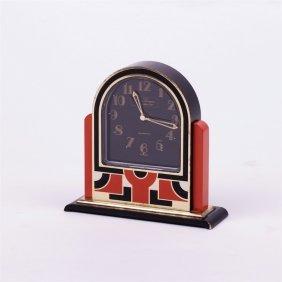"""Desk Clock """"hour Lavigne De Puis 1848""""."""