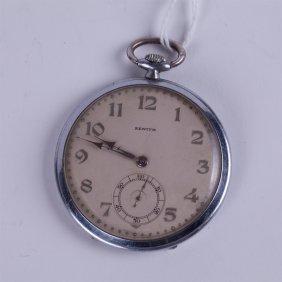 """Art Deco """"zenith"""" Pocket Watch."""