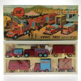 Corgi Toys Chipperfields Circus Models Gift Set No. 23.
