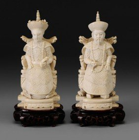 Two Ivory Carvings