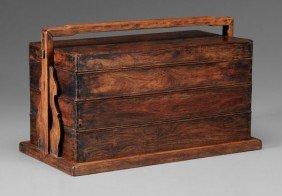 Huanghuali Three-Tiered Box
