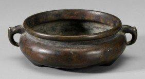 Bronze Tripod Censer