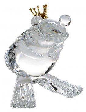 "Steuben ""frog Prince"" By Lloyd Atkins"