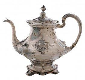 Martelé Sterling Art Nouveau Teapot