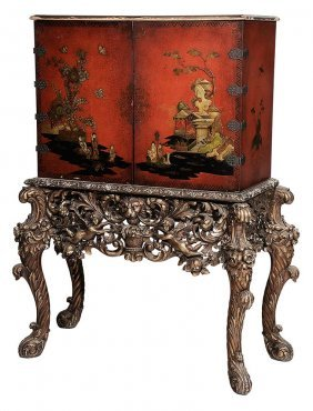 Louis Xv Style Carved, Gilt Wood And