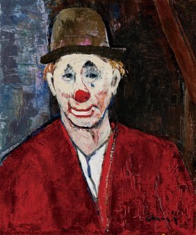Chang Yi-hsiung, Clown In Red