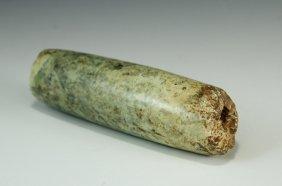Chinese Antique Jade Tube