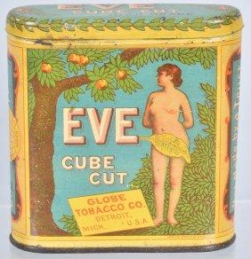 EVE CUBE CUT POCKET TOBACCO TIN