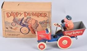 MARX Tin Windup BLUTO DIPPY DUMPER w/BOX
