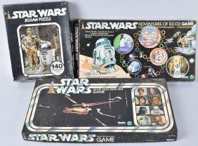 2- Star Wars Games & Star Wars Puzzle