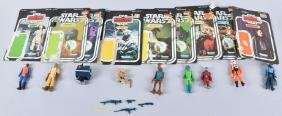 9- Star Wars Action Figures W/ Cards