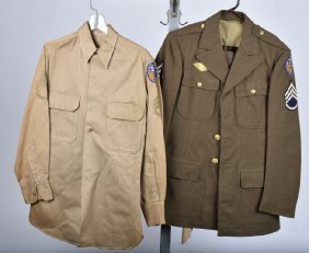 Ww2 Jacket Id'd B-29 Tail Gunner And More