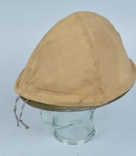 French Helmet With Cover