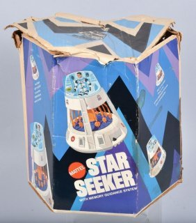 Mattel Major Matt Mason Star Seeker W/ Box