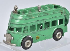 Arcade Cast Iron Double Decker Bus