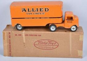 Tonka #400 Allied Van Lines Semi Truck W/ Box