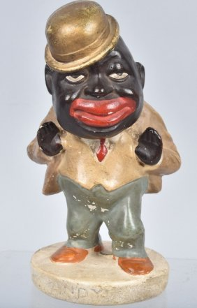 """Early Amos & """"andy"""" Chalk Figure"""