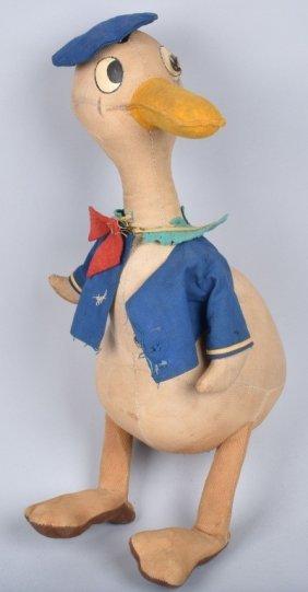 Kinckerbocker Stuffed Donald Duck