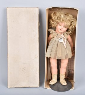 Ideal Novelty Shirley Temple Doll W/ Box