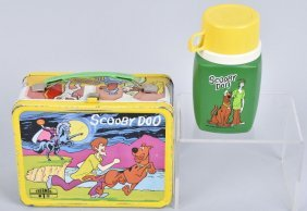 Scooby Doo Lunch Box With Thermos
