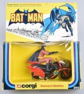 1976 Corgi #268 Batman's Batbike
