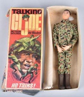 1960s Talking Gi Joe W/box