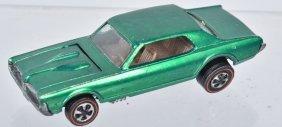 Vintage Hotwheels Red Line Green Custom Cougar