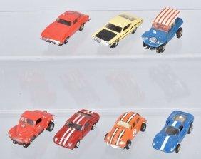 7- Vintage Aurora Slot Cars