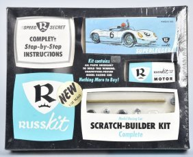 Russ Kit Slot Car Superleggera 1/32 Scale Mib