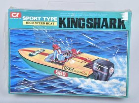 Idea Model High Speed Boat King Shark Mib