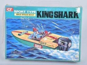 Idea Model High Speed Boat King Shark Mib