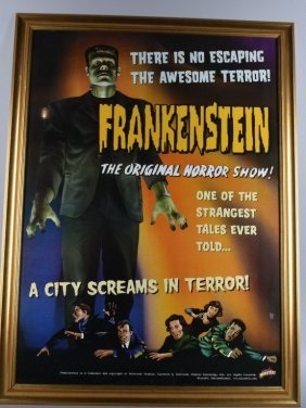 Special Edition Frankenstein Poster With Frame