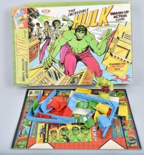 Ideal Incrediable Hulk Smash Up Action Game In Box