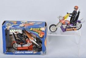 Scram'n Deamons Lunatic Fringe In Box + Extra Bike