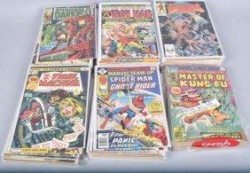 90- Vinatge Comic Books Superman, Batman, & More