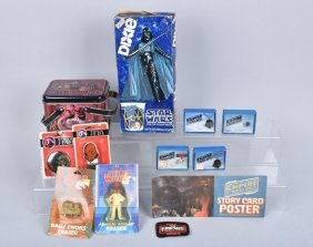 Star Wars Charms, Dixie Cups, Erasers, & More