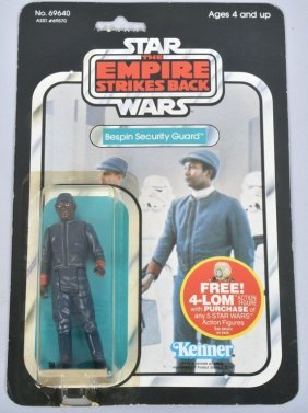1982 Star Wars Esb 47-a Bespin Security Guard Moc