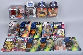 15- Star Wars Figures & More Mib