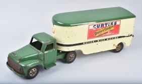 Buddy L Pressed Steel Curtiss Candy Semi Truck