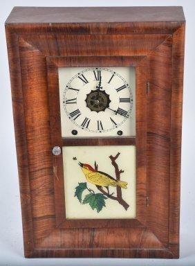 Antique New Haven Ogee Clock & Alarm