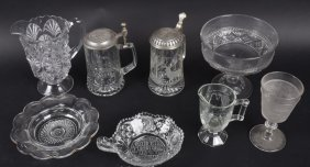 Lot Of Vintage Glass, Steins, And More