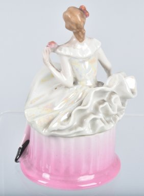 Lady Doorstop And Bavaria Lady Vanity Box