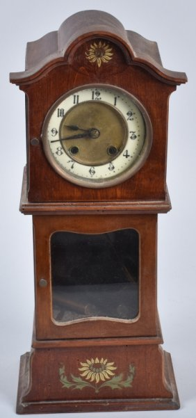 Miniature Grandfather Clock, Vintage