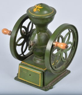 Cast Iron John Wright Coffee Grinder